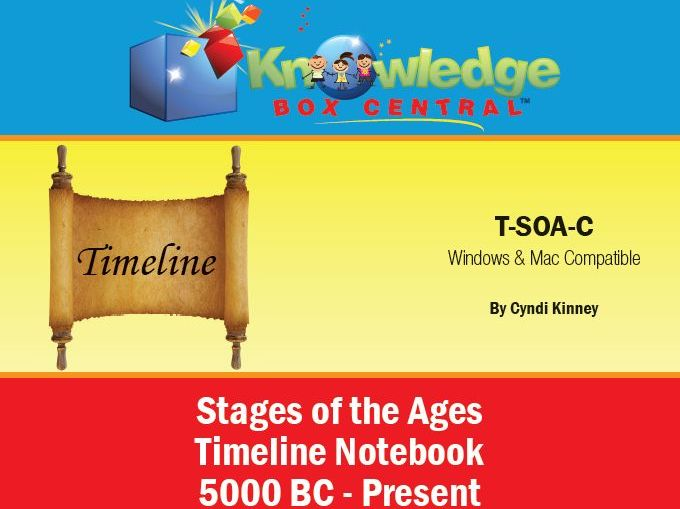 Stages of the Ages ™ Timeline Notebook 5000 BC to Present