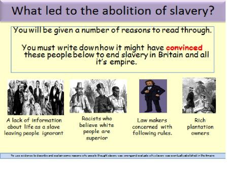 Why Should Slavery Be Abolished?