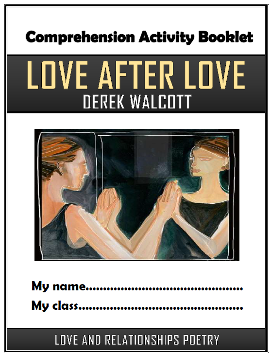 Love After Love Comprehension Activities Booklet!