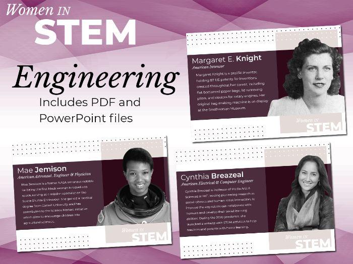 Women in STEM Posters - Engineering
