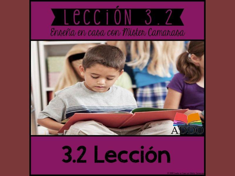 LECCION MORAL MENSAJE HISTORIA (20+ TEXTOS) - SPANISH- Lección 3.2