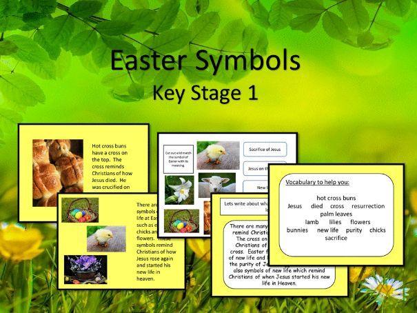 Easter symbols KS1