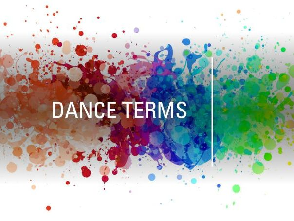 Dance Terms