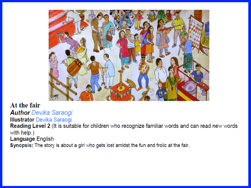 Can you spot it? - At the fair (Level 2 Reading Task)