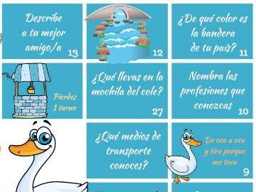 Spanish game for kids - Juego para niños en español