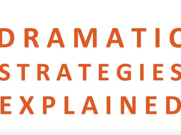 DRAMA STRATEGIES BOOKLET 1