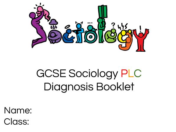 GCSE Sociology PLC tracking booklet