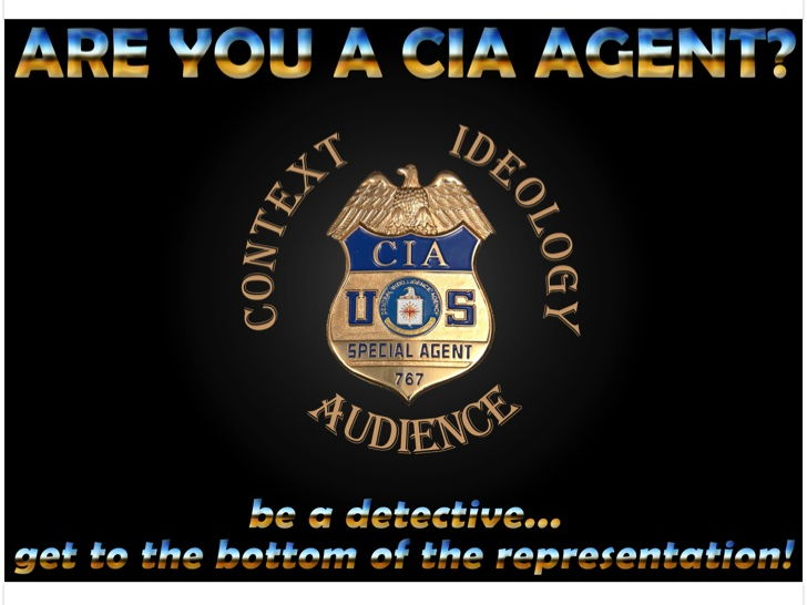 Media Studies 'CIA' acronym: Context, Ideology, Audience (includes poster and PowerPoints)