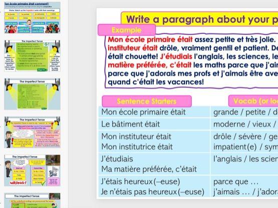 Dynamo 3 French Module 3 Ton école primaire était comment?