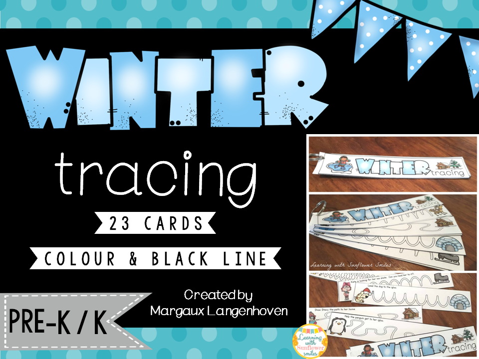 Fine Motor: Winter Tracing