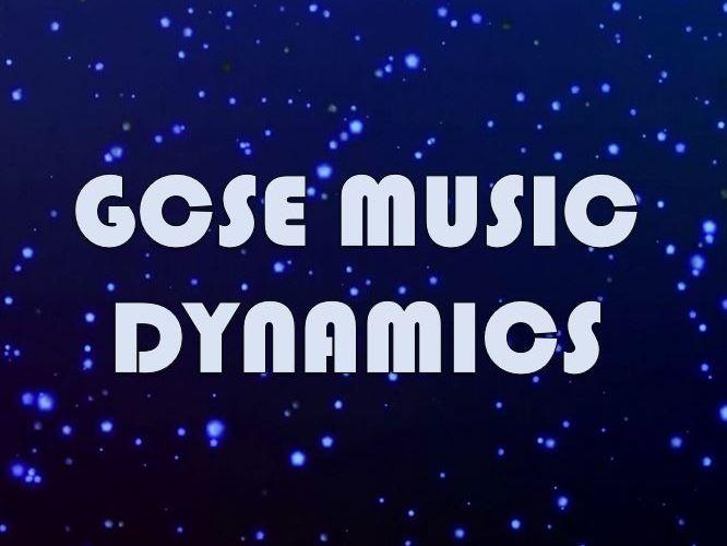 GCSE Music - Dynamics