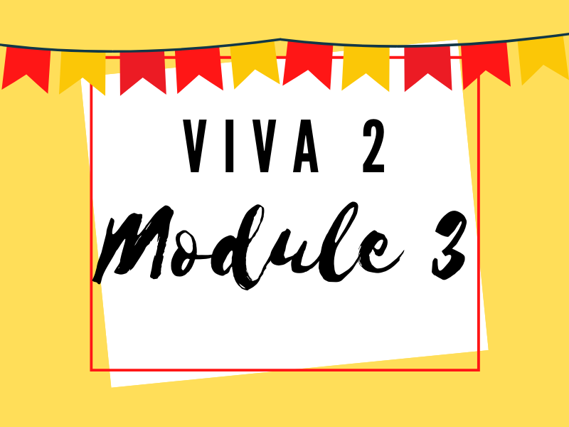 Viva 2: Module 3
