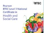 L3 Health & Social Care BTEC Bundle Pack