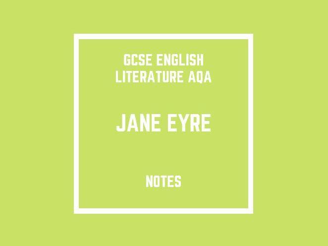GCSE English Literature AQA: Jane Eyre (notes)