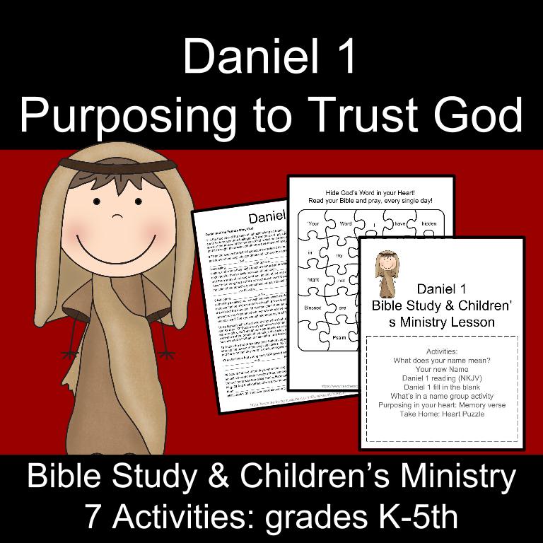 Bible Study: Daniel 1- Trusting God