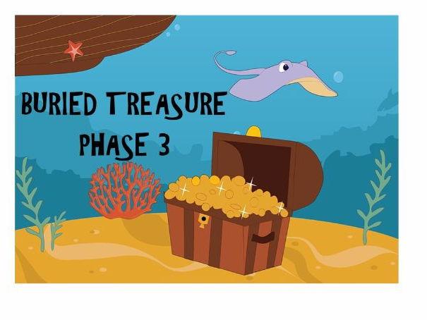 Phonics-Phase 3 Buried Treasure
