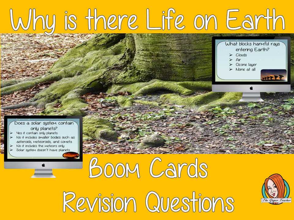 Why  is there Life on Earth Revision Questions