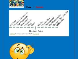Decimals Tailored for the Special Needs