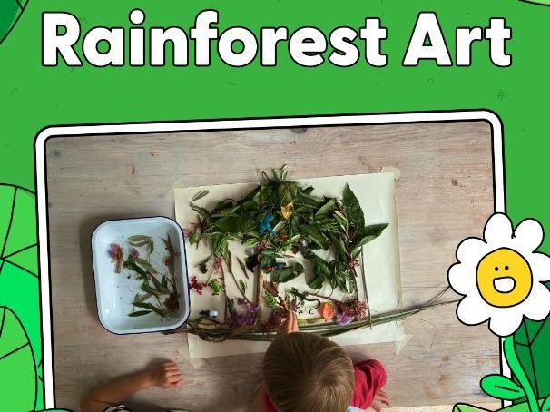 Activity - Rainforest Art