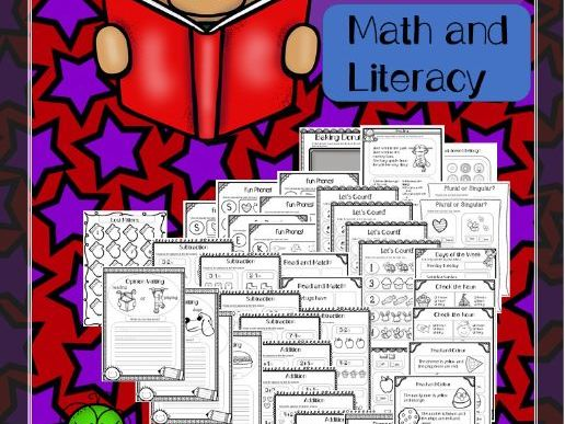 Math and Literacy Sub-Plans PreK-2