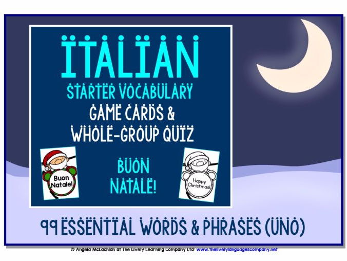 ITALIAN CHRISTMAS DESIGN GAMES & QUIZ (1)