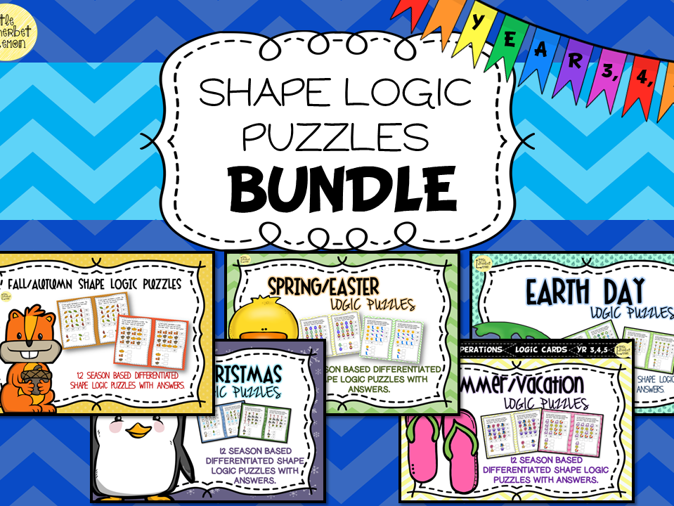 Logic Puzzles for the Year Bundle