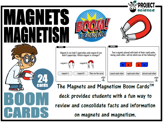 Magnets and Magnetism Boom Cards™ - Distance Learning