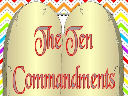The Ten Commandments Posters - Catholic