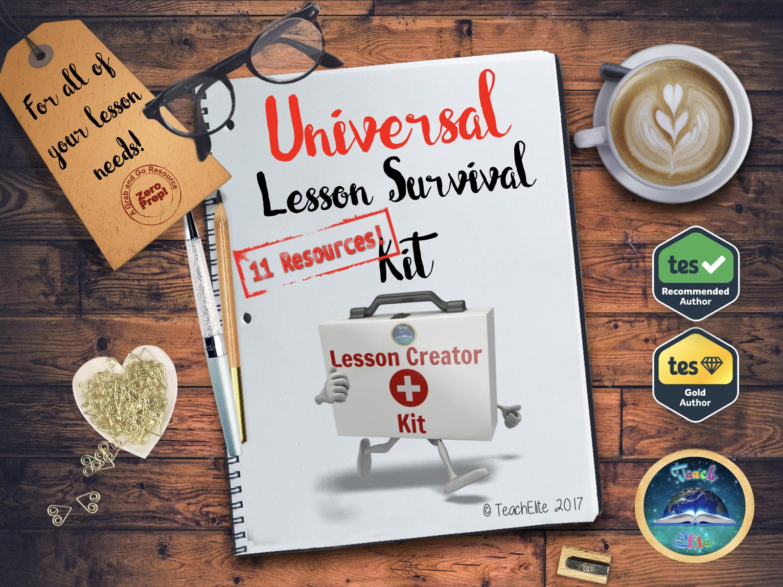 Revision : Revision Lesson Survival Kit