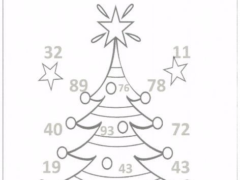Christmas Maths Baubles Challenge