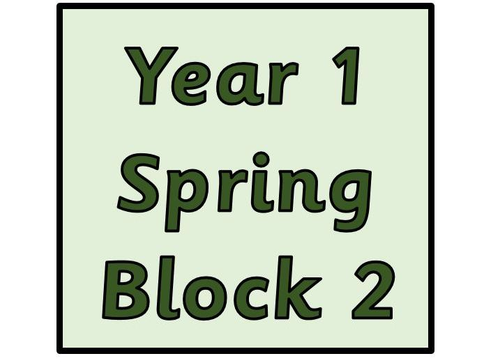 Year 1 - Spring Block 2 - Number Place Value Within 50 (Block 6)
