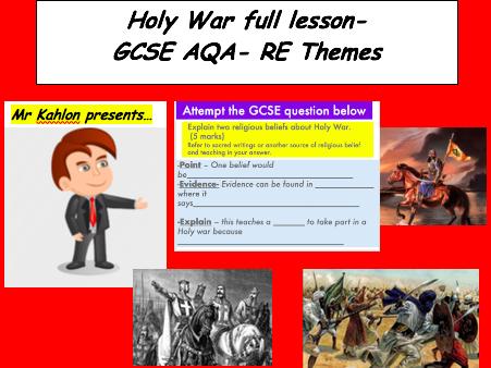 Holy War Full lesson -GCSE AQA-Theme D