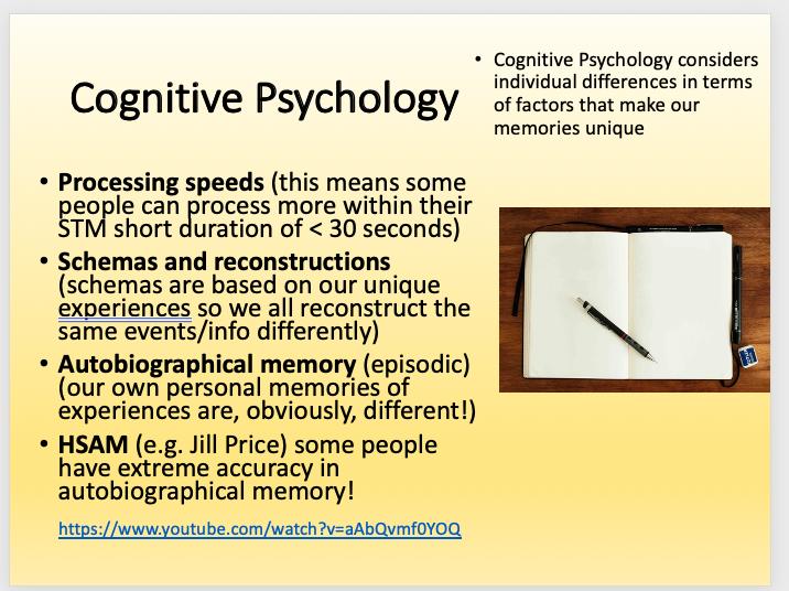 Edexcel A Level Psychology Individual Differences Developmental Psychology bundle