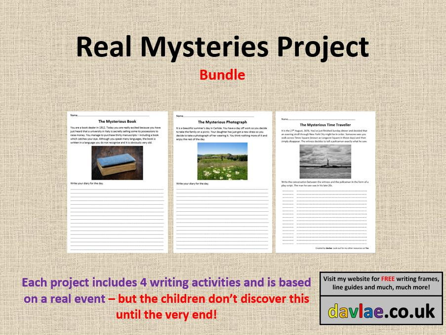 Real Mysteries Project Bundle