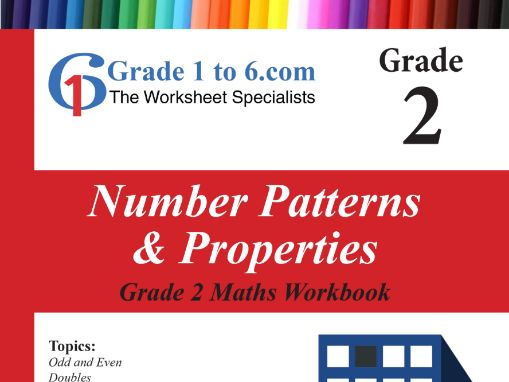 Number Pattern & Properties: Grade 2 Maths Workbook from www.Grade1to6.com Books