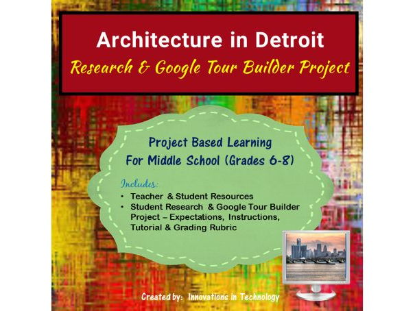 Google Tour Builder - Explore the Architectural Landmarks of Detroit