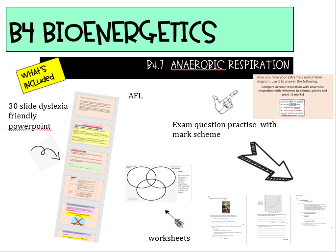 B4.7 Anaerobic respiration - AQA NEW GCSE 9-1 COMBINED SCIENCE TRILOGY