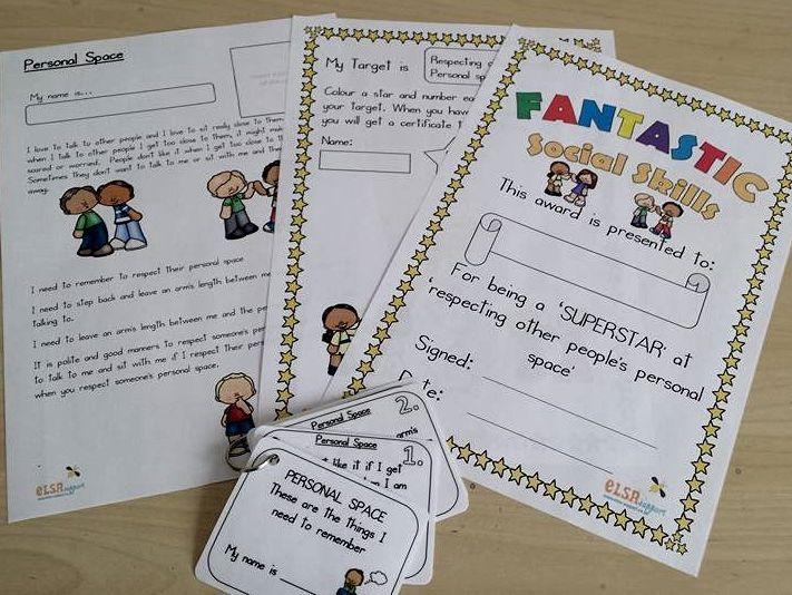 Personalised Story pack - Social Skills