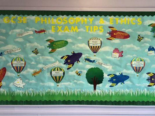 OCR GCSE Religious Studies 9-1 Exam tips full classroom display