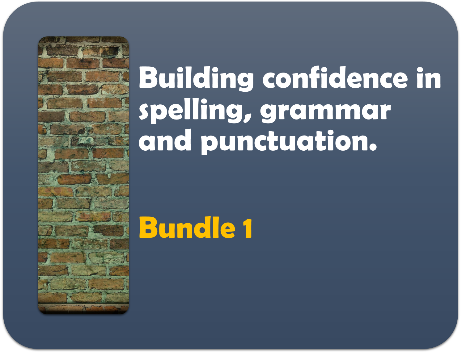 building confidence in spelling, punctuation and grammar 1