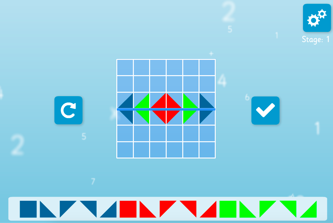Reflective Symmetry Interactive Activity - KS2 Geometry