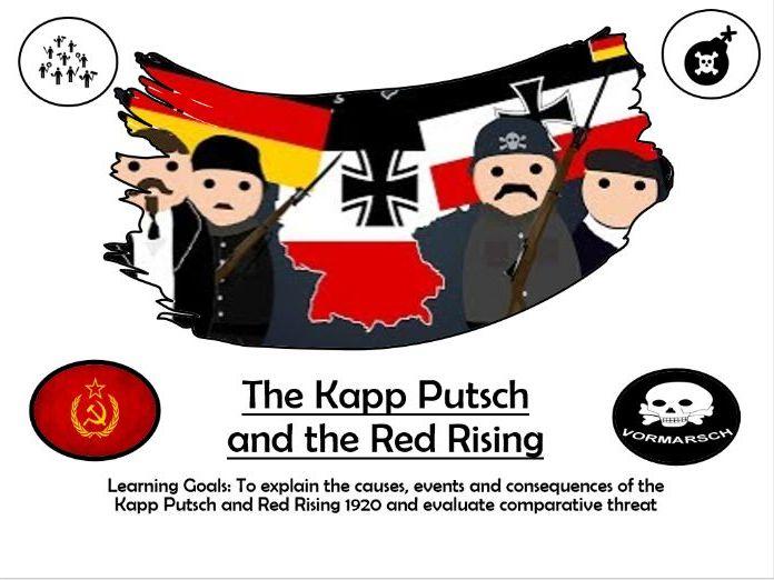 The Kapp Putsch Opposition to Weimar
