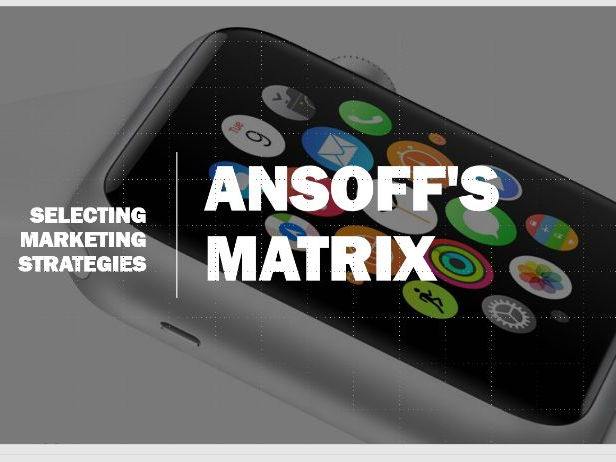 Ansoffs Matrix