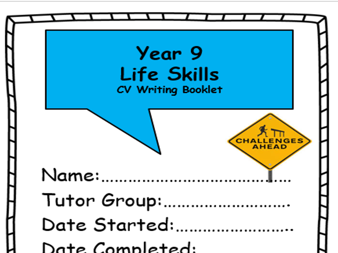 CV Writing Booklet