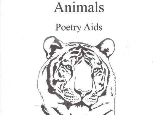 Animals   Poetry Aids