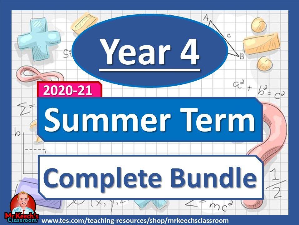 Year 4 - Summer Term - White Rose Maths