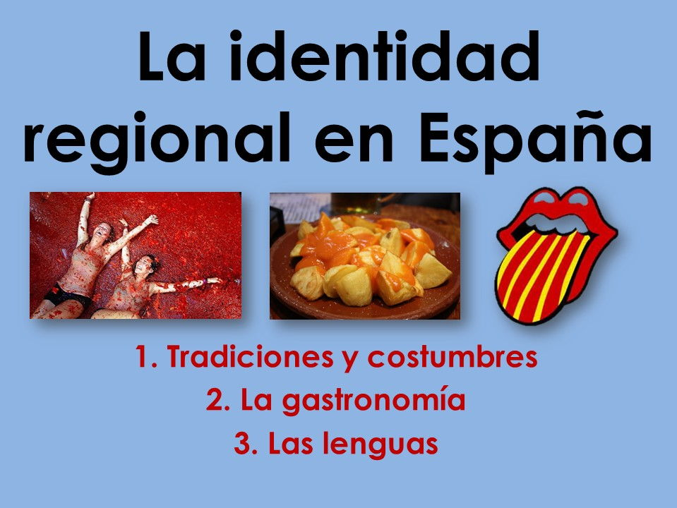 AQA New AS/A Level Spanish: La identidad regional with stimulus cards