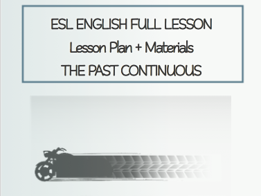 ESL English Full Lesson: The Past Continuous LEVEL: Intermediate