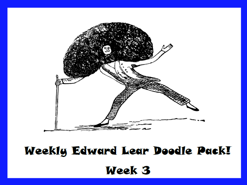 Edward Lear Weekly Doodle Pack - Part 3