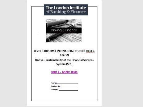 LiBF - L3 UNIT 4 TOPIC TESTS